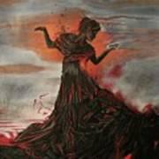 Volcano Keeper Art Print