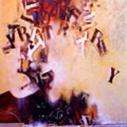 Volcano Poet Art Print