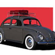 Volkswagen Vw Beetle Art Print