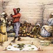 Voodoo Dance, 1885 Art Print