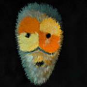 Voodoo Mask Art Print