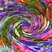 Vortex Abstract Art No. 18 Art Print