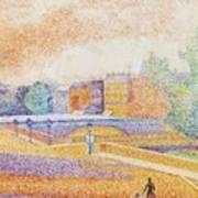 Vue De Paris 1885 Art Print