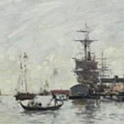 Vue De Venise Art Print