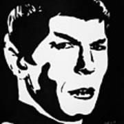 Vulcan Spock Art Print