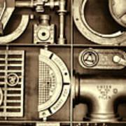 Vulcan Steel Steampunk Ironworks Art Print