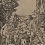Vulcan, Venus, And Eros Art Print