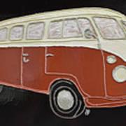 Vw Bus Art Print