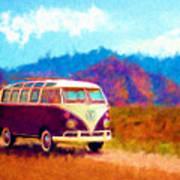 Vw Van Classic Art Print