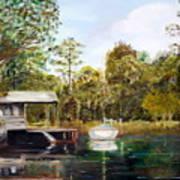 Waccamaw River Sloop Art Print