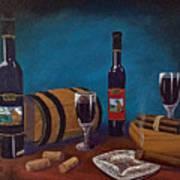 Waco Winery Art Print