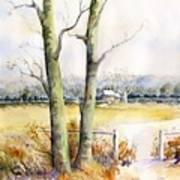 Wagner's Farm Art Print