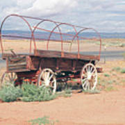 Wagon Of The West Art Print