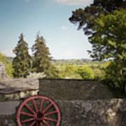 Wagon Wheel County Clare Ireland Art Print