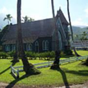 Wai Oli Hui Ia Church Art Print