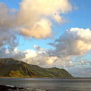 Waianae Coast Hawaii  Art Print