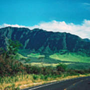 Waianae Mountains Art Print