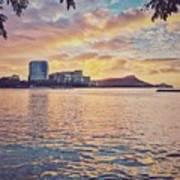 Waikiki Sunrise Art Print