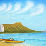 Waikiki Wonder Art Print
