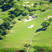 Wailea Gold And Emerald Courses Print by Ron Dahlquist - Printscapes