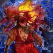 Wailing Blues Art Print