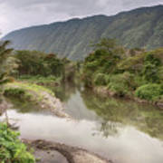Wailoa Stream Art Print