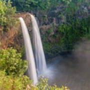 Wailua Falls - Kauai Hawaii Art Print