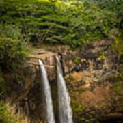 Wailua Falls Kauai I Art Print