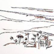 Waimea Bay Morning View Art Print