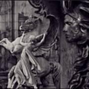 Waiting For Alexander - Heroes And Gods - Violet  Art Print