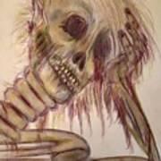 Waiting Forever...... Art Print