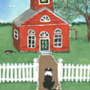 Waiting On The Bell Print by Sue Ann Thornton