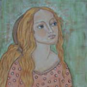 Waiting Art Print by Rain Ririn