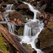 Walden Creek Cascade Art Print