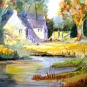Wales Country House Art Print