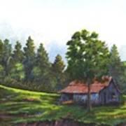Walhalla Barn Art Print