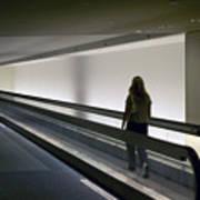 Walk-a-matic At Orlando Airport Art Print