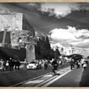 Walking Around The City Of Rome 2 Art Print