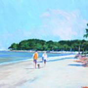 Walking Down The Isle Art Print