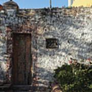 Wall And Doorway, San Miguel 2016 Art Print