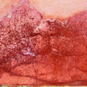Wall As Mountain Landscape Art Print