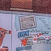 Wall Mural In Pontiac, Illinois Art Print