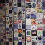 Wall Of Hope Art Print