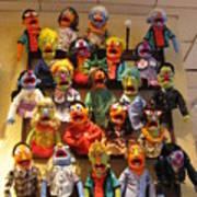 Wall Of Muppets Art Print