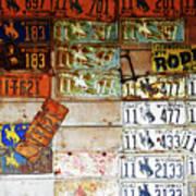 Wall Of Wyoming  Art Print