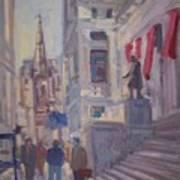 Wall St. Art Print