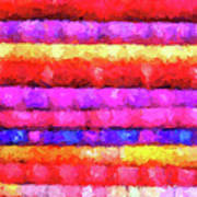 Wallart-multicolor Design Art Print