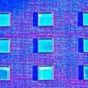 Walls Of Windows Art Print
