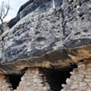 Walnut Canyon National Monument Cliff Dwellings Art Print