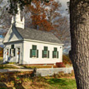 Walnut Grove Baptist Church1 Art Print
